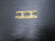 SUPPORT PLATE BRASS LINC WEFT FEEDER